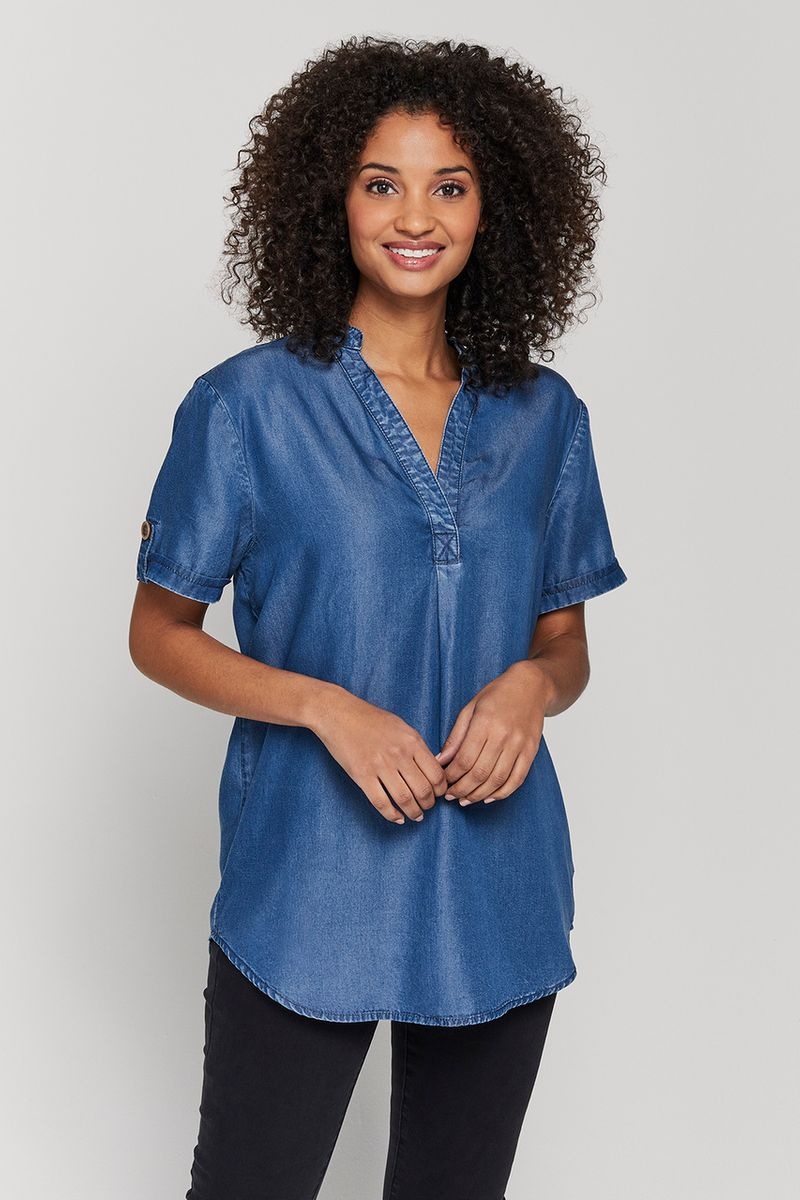 Overhead Tencel Shirt
