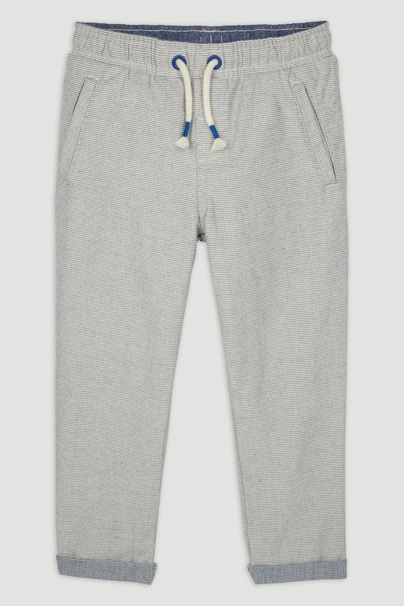 Ribbed Chino Trousers