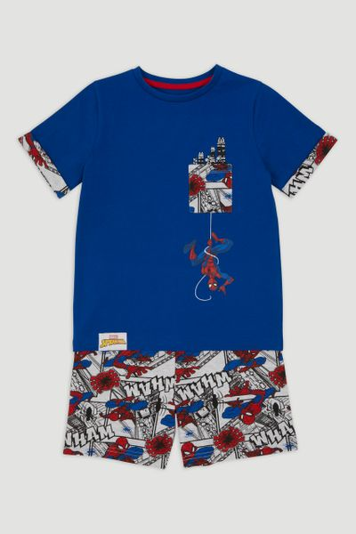 Marvel Navy Spiderman Pyjamas
