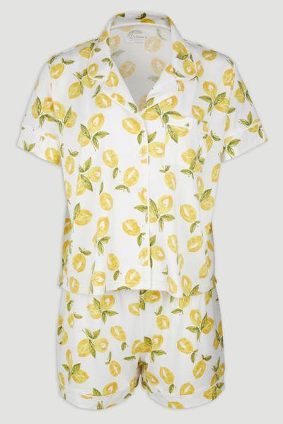 Lemon Print Pyjamas