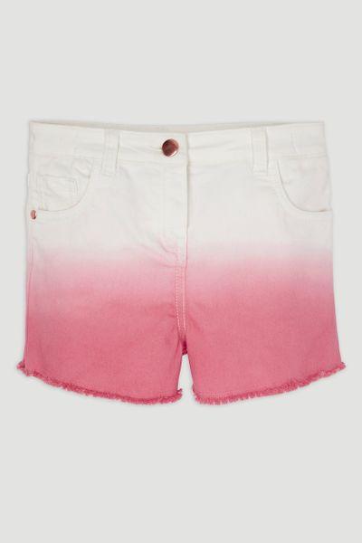 Pink Dip Dye Shorts