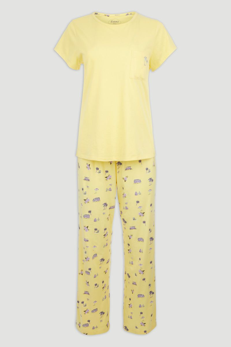 Yellow Campervan Pyjamas