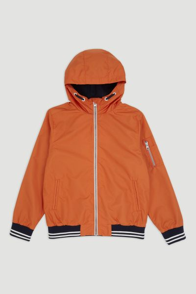 Orange Bomber Jacket 1-14yrs
