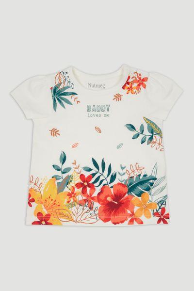 Tropical Daddy Slogan T-Shirt