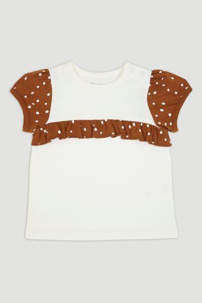 Spot Frill T-Shirt