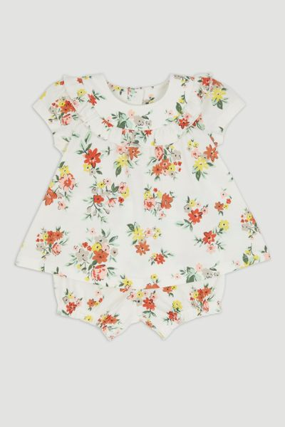 Floral T-Shirt & Shorts Set