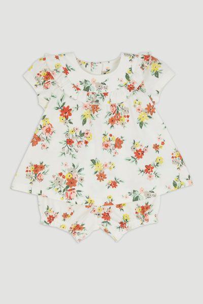 Floral T-Shirt & Shorts Set