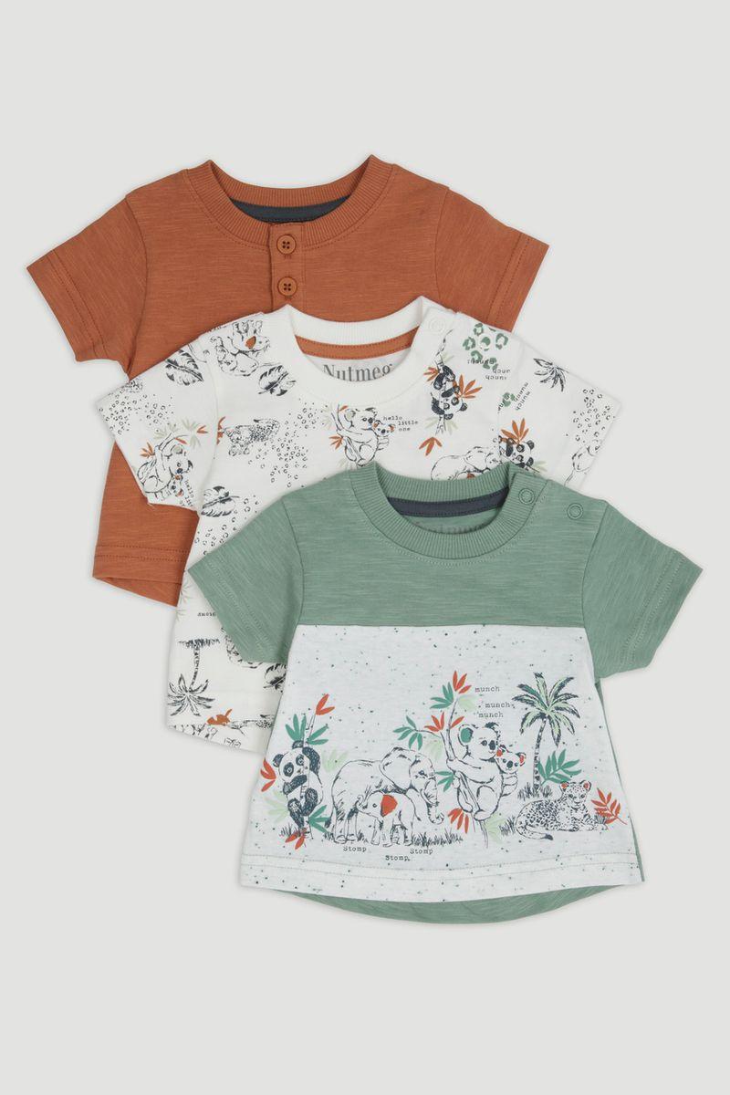 3 Pack Animal T-Shirts