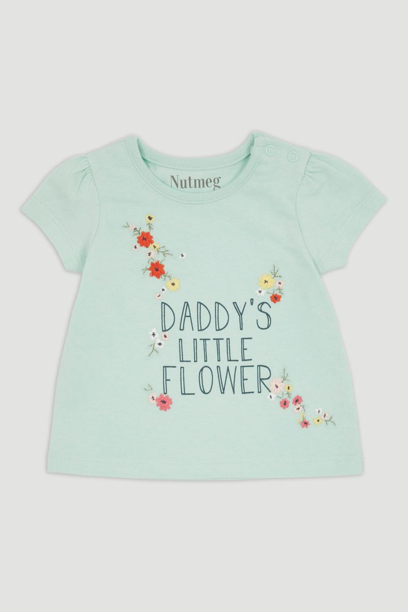 Daddy's Little Flower T-Shirt