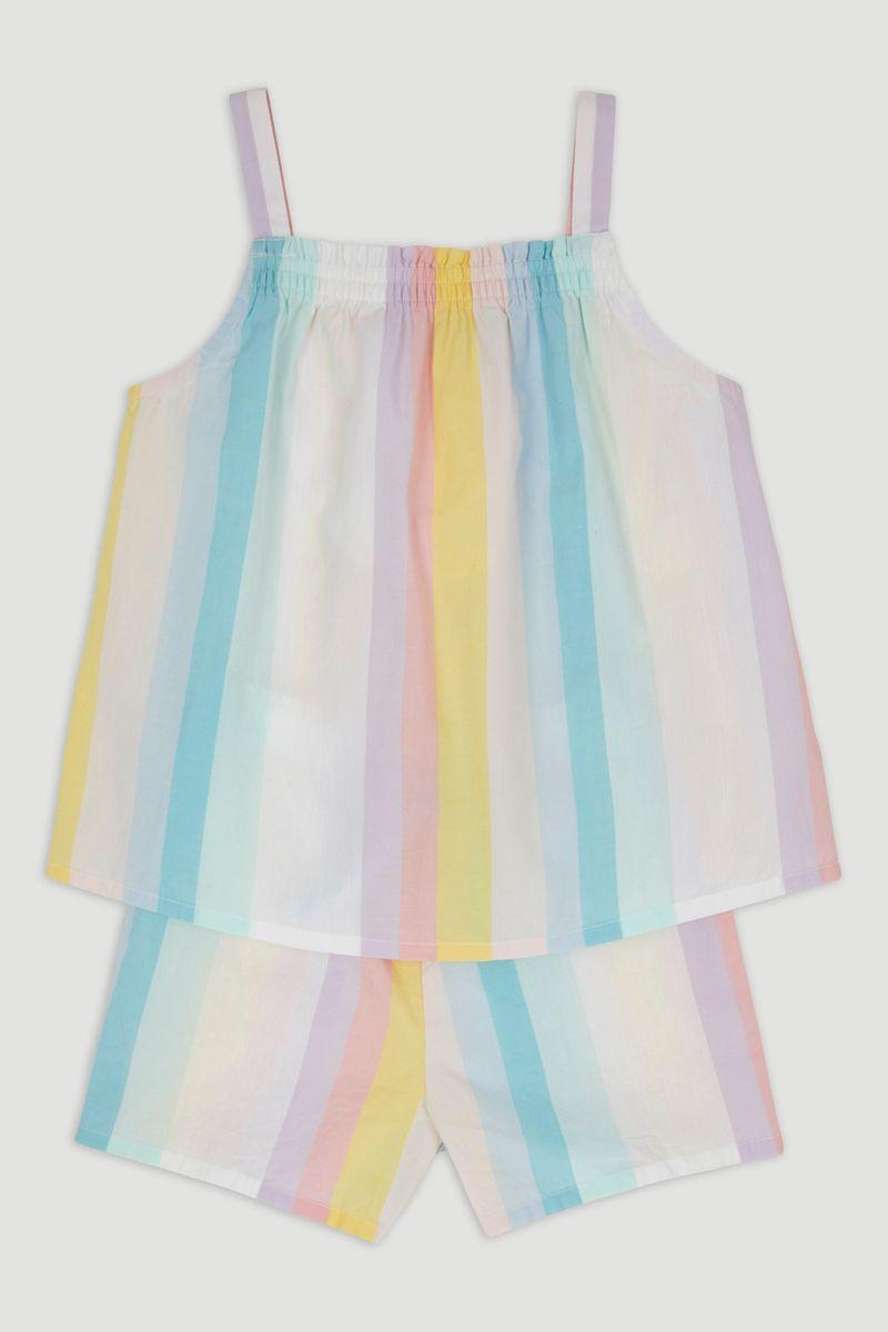 Stripe Cami & Shorts Pyjamas
