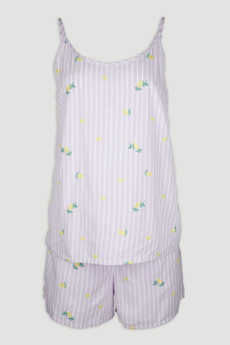 Lilac Lemon Pyjamas