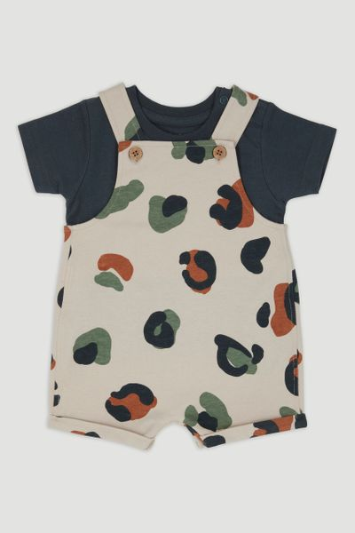 Animal Dungaree Set