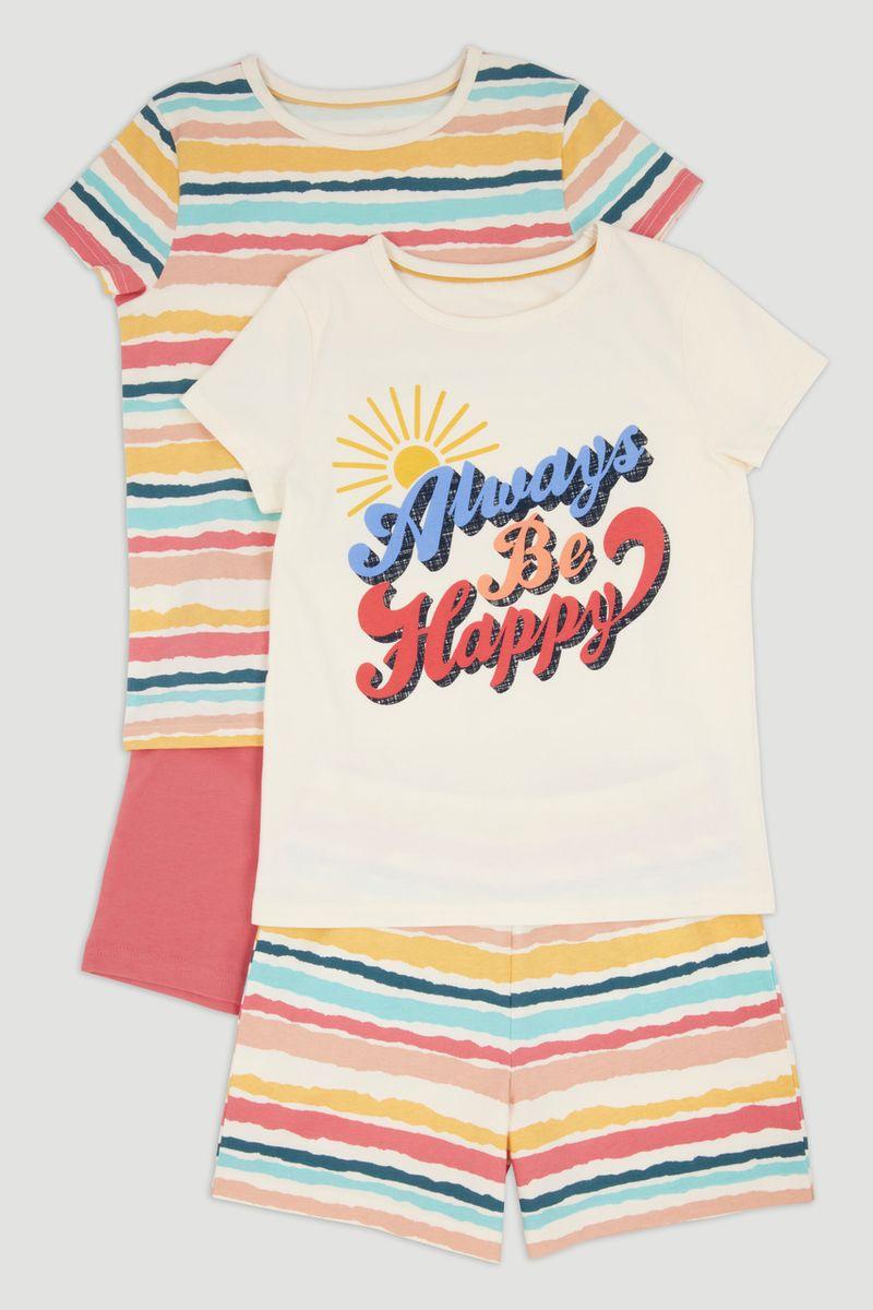 2 Pack Happy Pyjamas