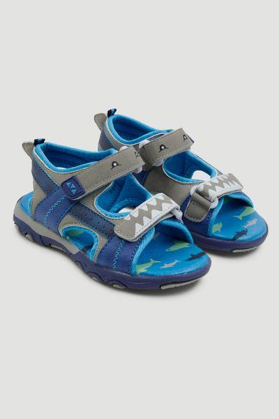 Shark Print Sandals