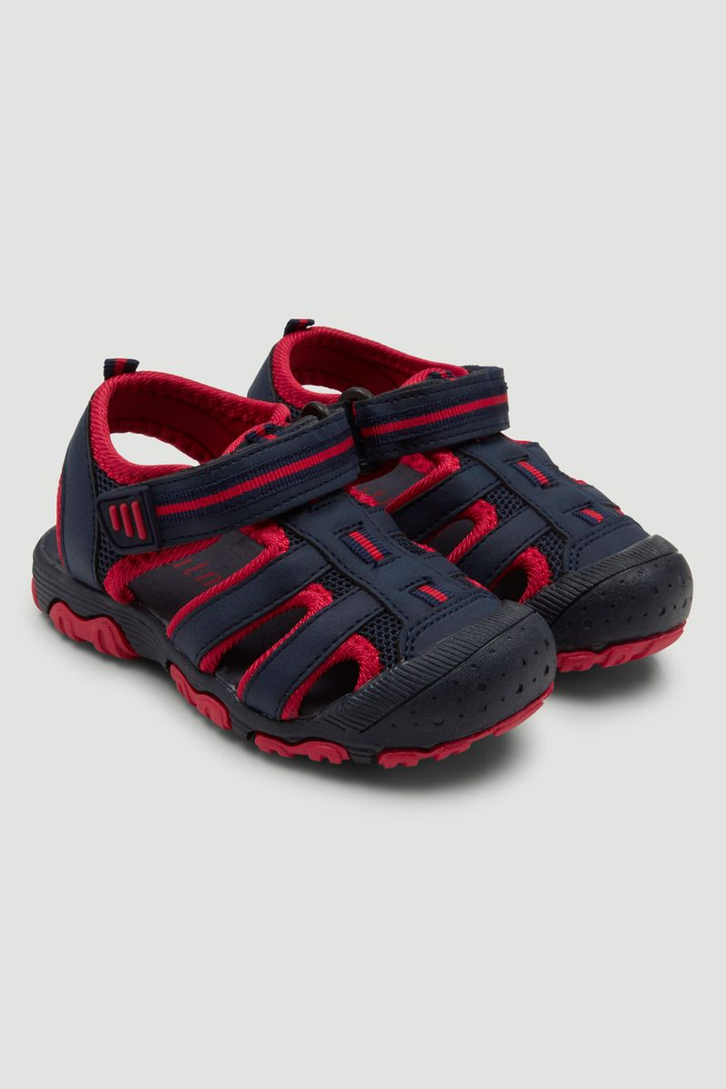 Red & Navy Sandals