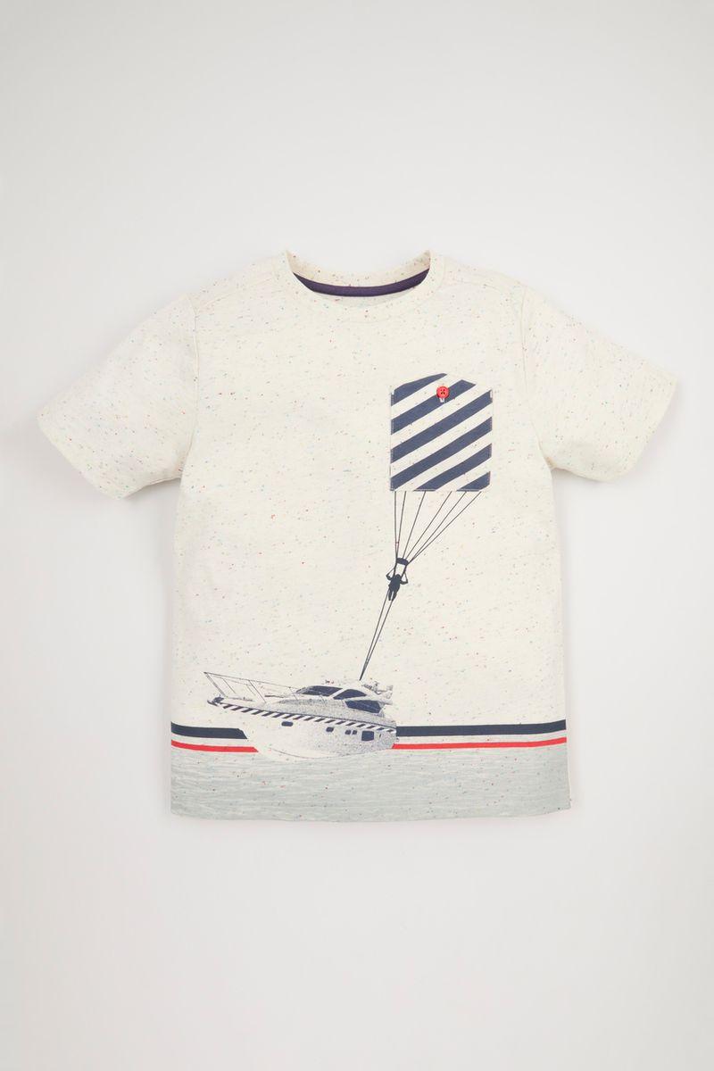 Speedboat Print T-shirt