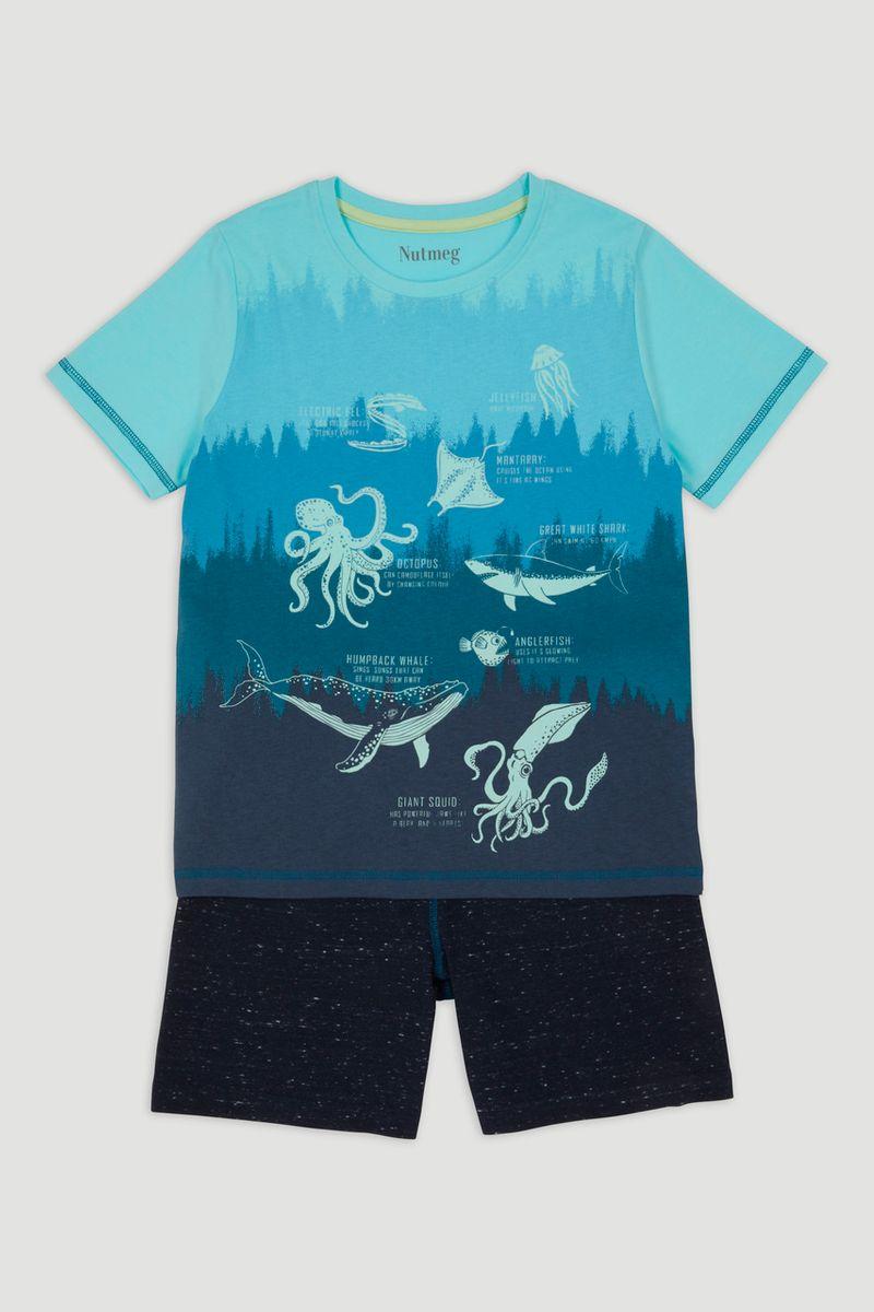 Glow In The Dark Sea Pyjamas