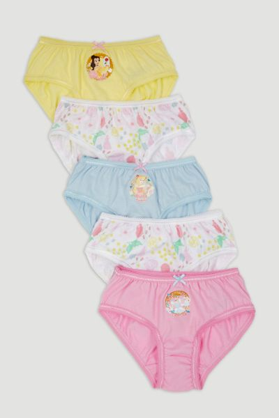 5 Pack Princess Briefs