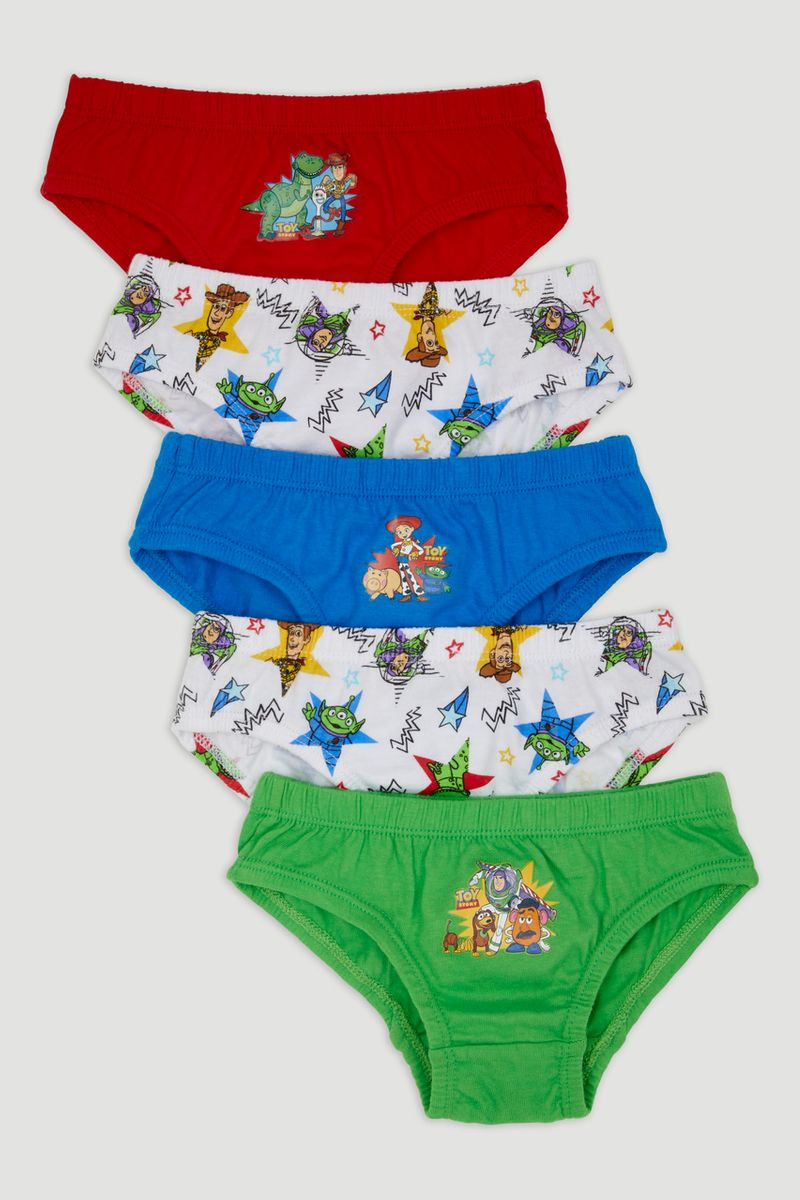 5 Pack Disney Toy Story Briefs
