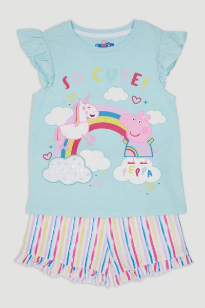 Peppa Pig Slogan Pyjamas