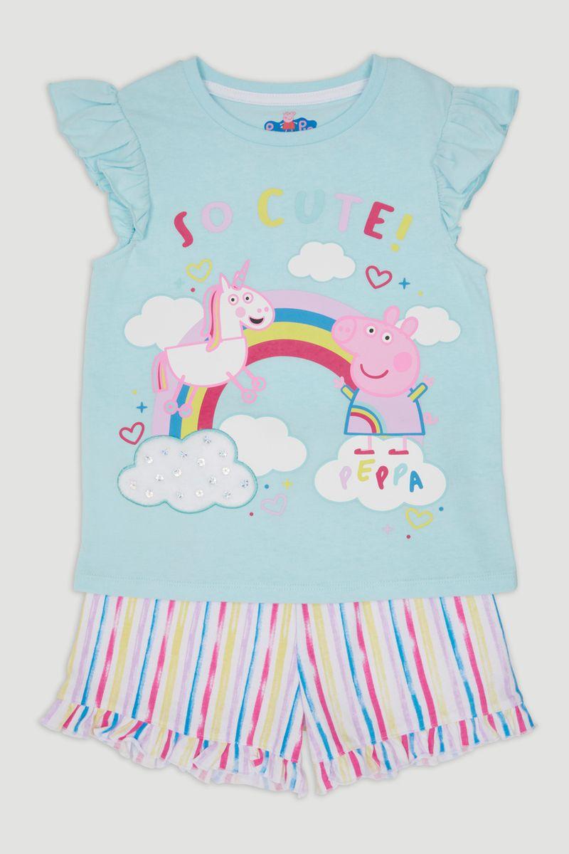 Peppa Pig Slogan Pyjamas