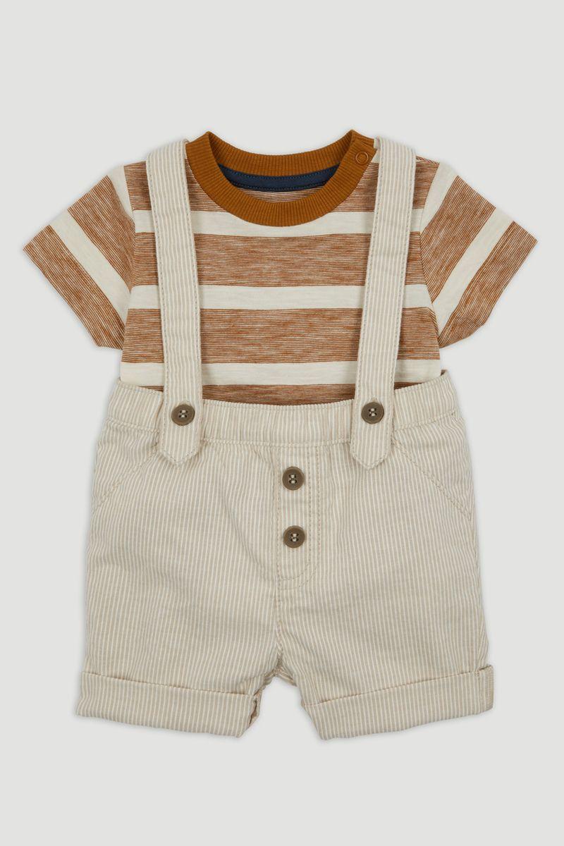 Woven Short & T-Shirt Set