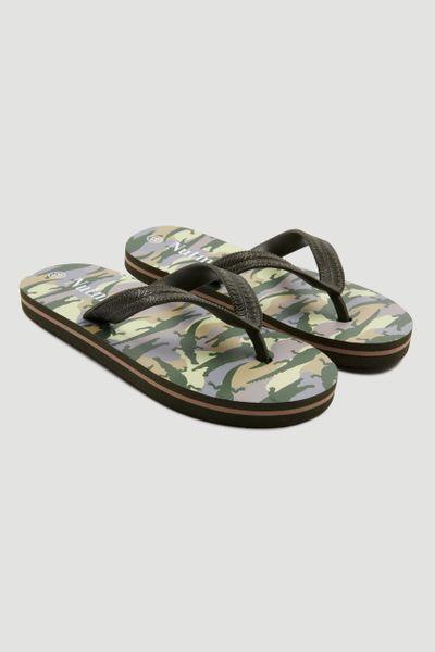 Camo Crocodile Flip Flops
