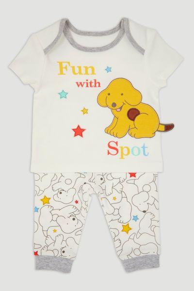 White Spot the Dog Pyjamas