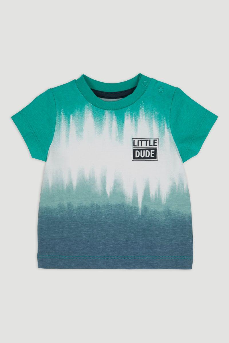 Green Tie Dye T-Shirt