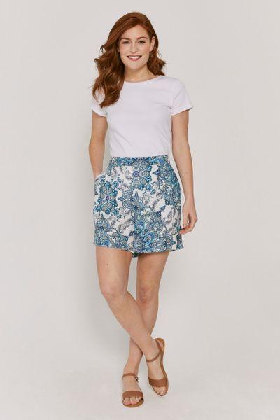 Paisley Print Flippy Shorts