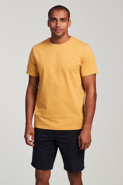 Ochre Crew Neck T-Shirt