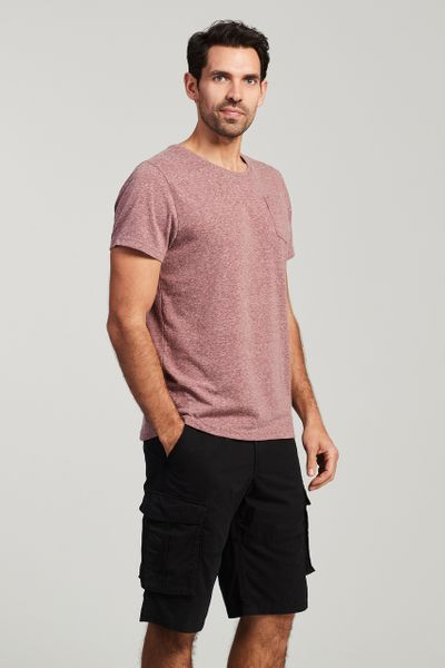 Mauve Pocket T-Shirt