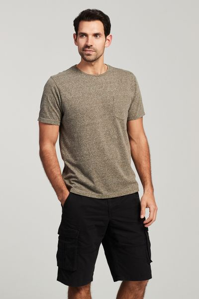 Khaki Pocket T-Shirt