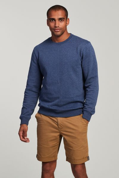 Navy Crew Neck Sweatshirt