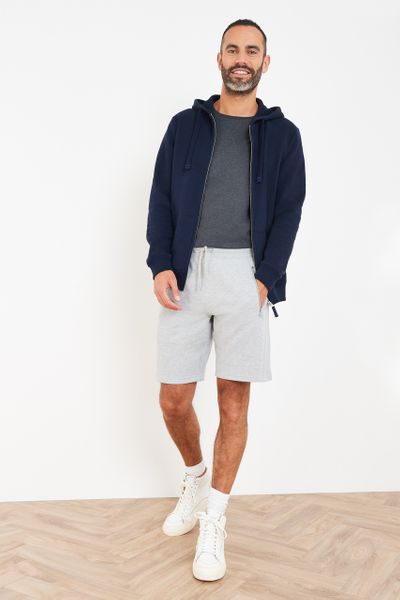 Grey Marl Sweat Shorts