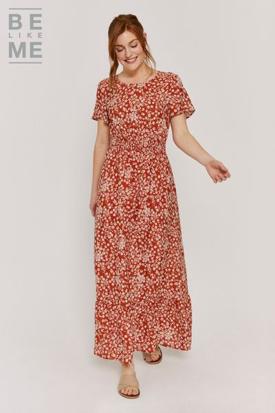 Be Like Me Floral Boho Maxi Dress