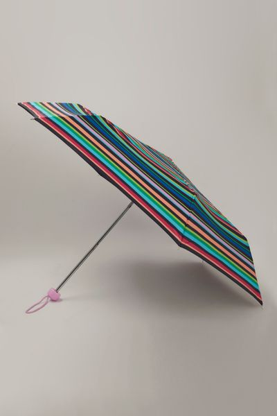 Stripe Print Super Mini Umbrella
