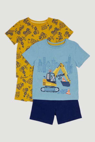 2 Pack Digger Pyjamas