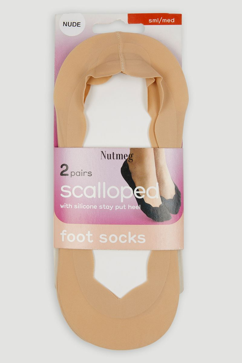 Nude 2 Pack Footsies