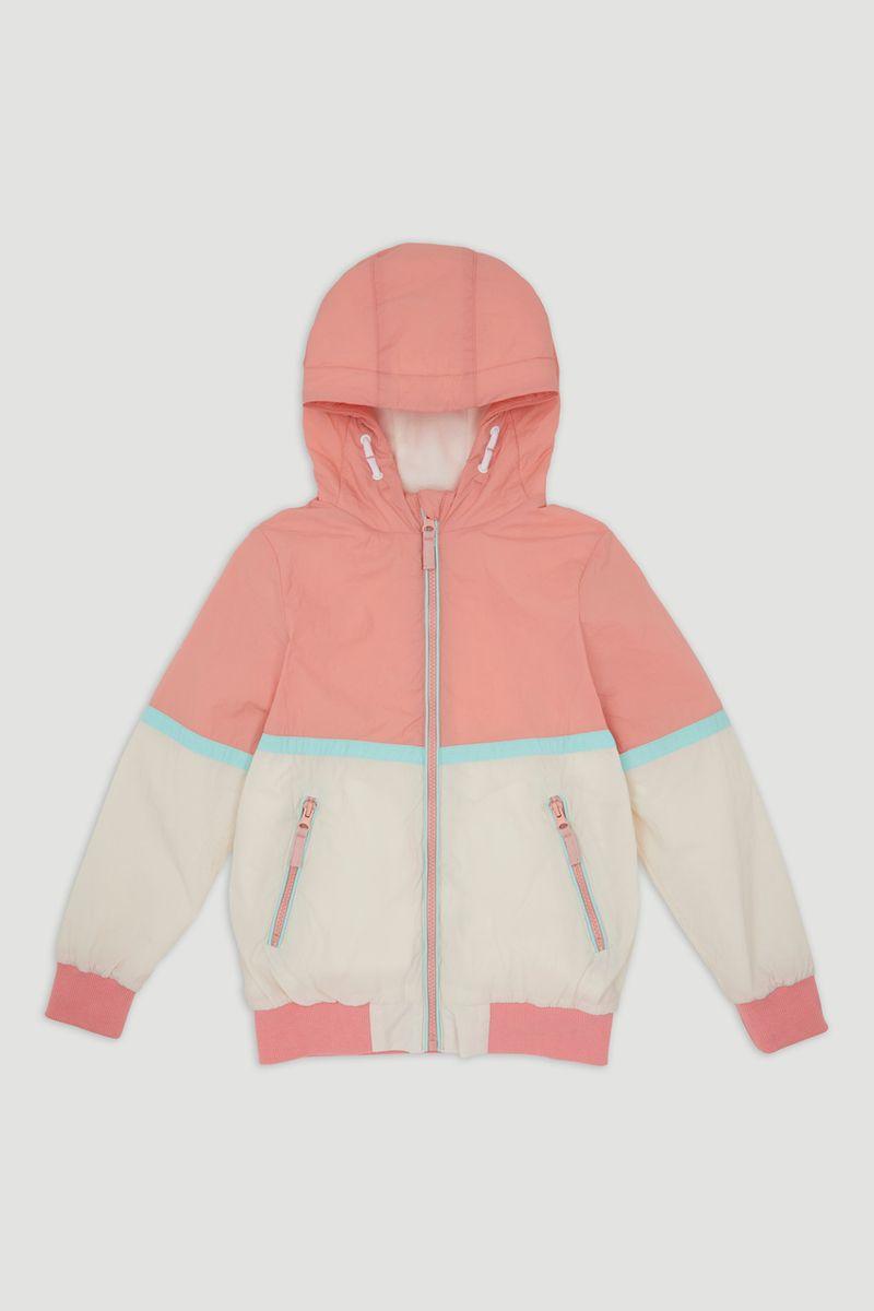 Peach Colourblock Jacket