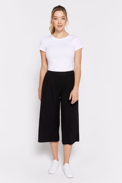 Jersey Black Culottes