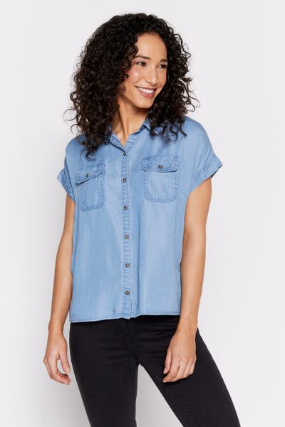 Denim Look Shirt