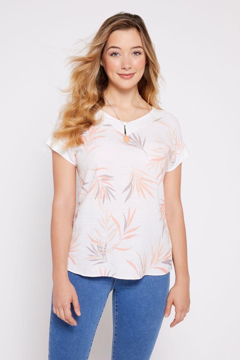 Coral Necklace Top