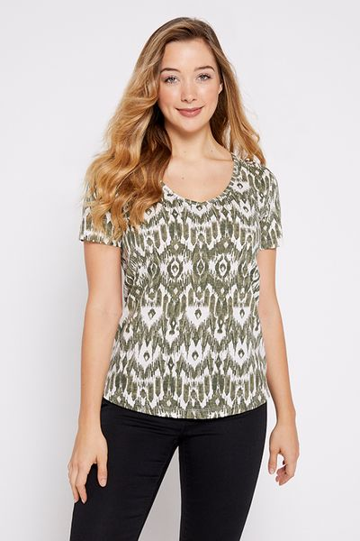 Khaki Short Sleeve T-shirt