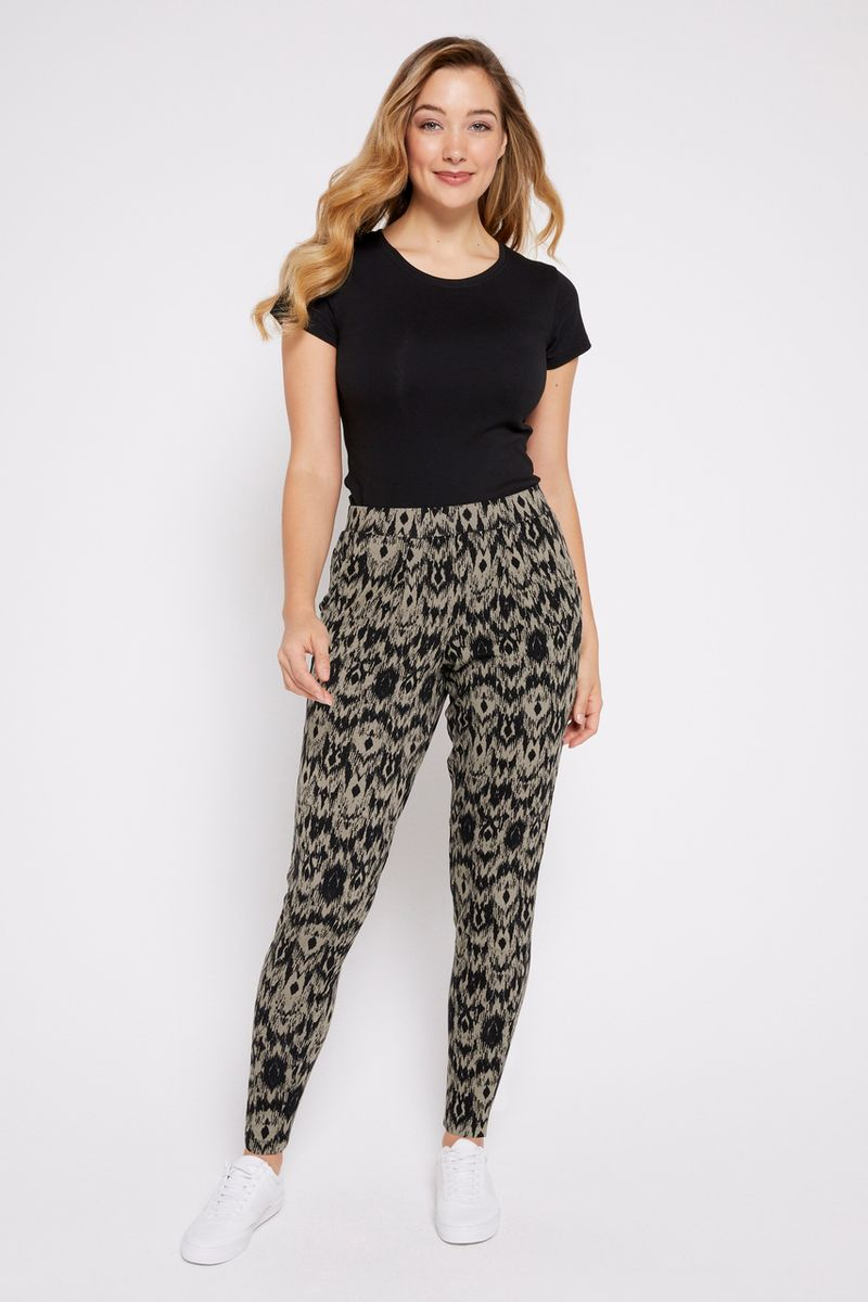 Khaki Harem Trousers