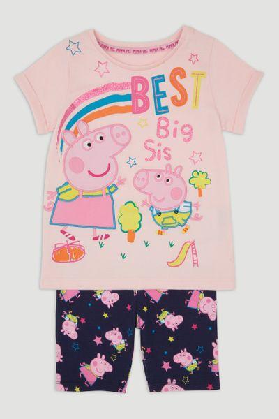 Peppa Pig Best Sister T-Shirt & Shorts