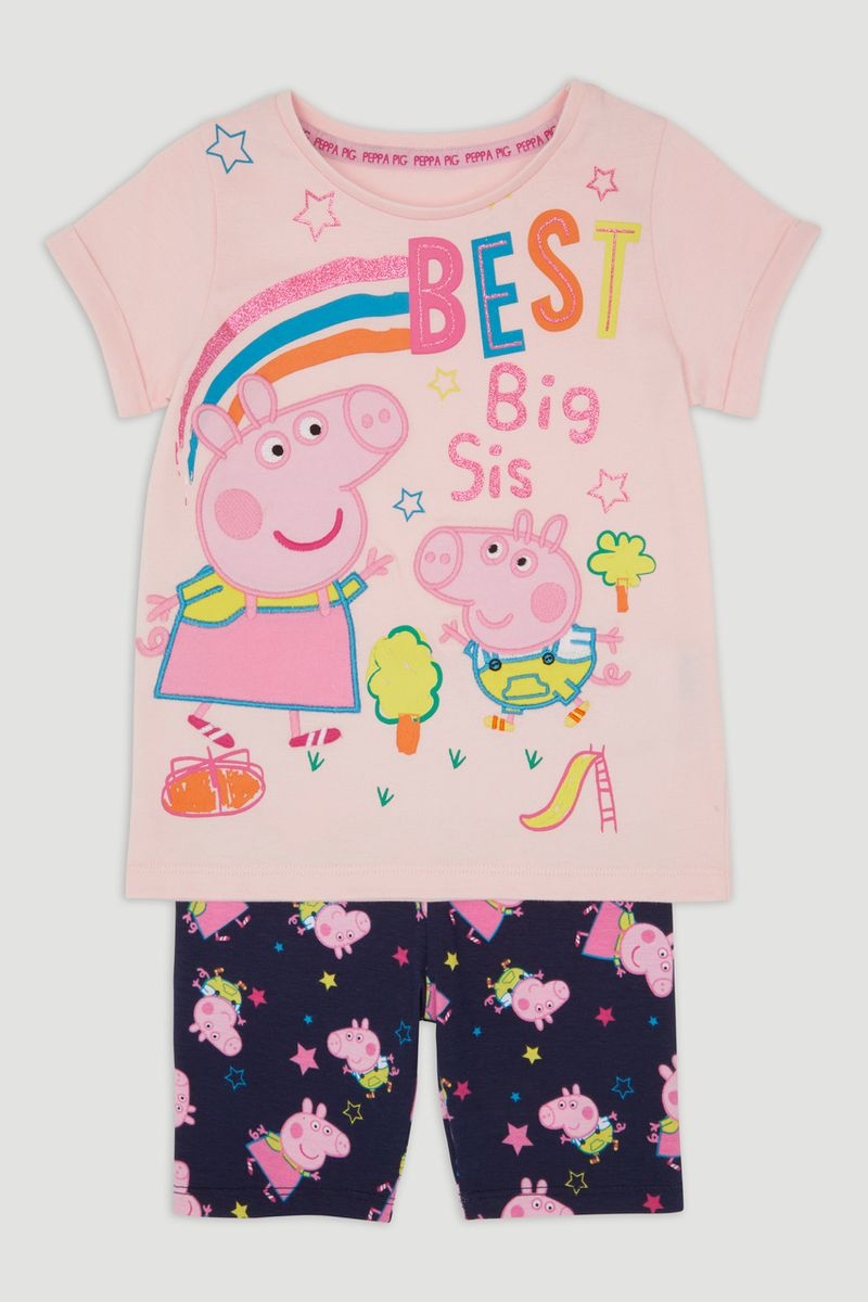 Peppa Pig Best Sister T-Shirt & Shorts