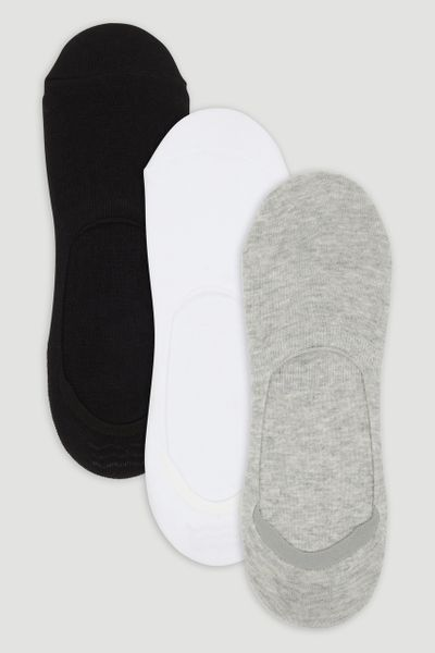 3 Pack Footsie Socks