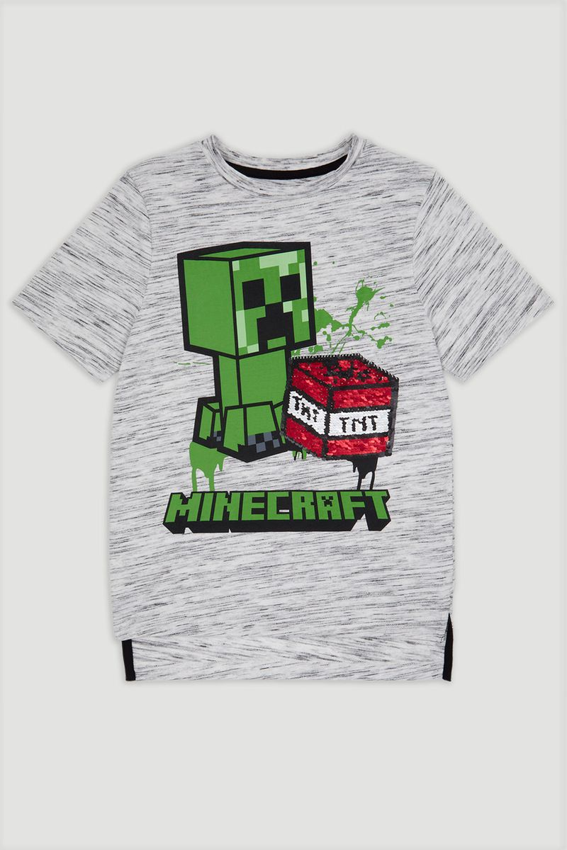 Interactive Minecraft T-shirt