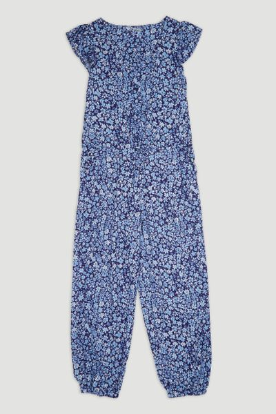 Blue Flower Jumpsuit